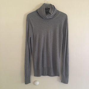 All Saints Spitalfields Grey Turtle Neck Sweater S